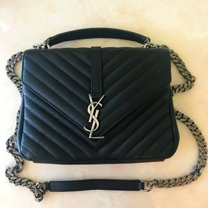 YSL small college bag.